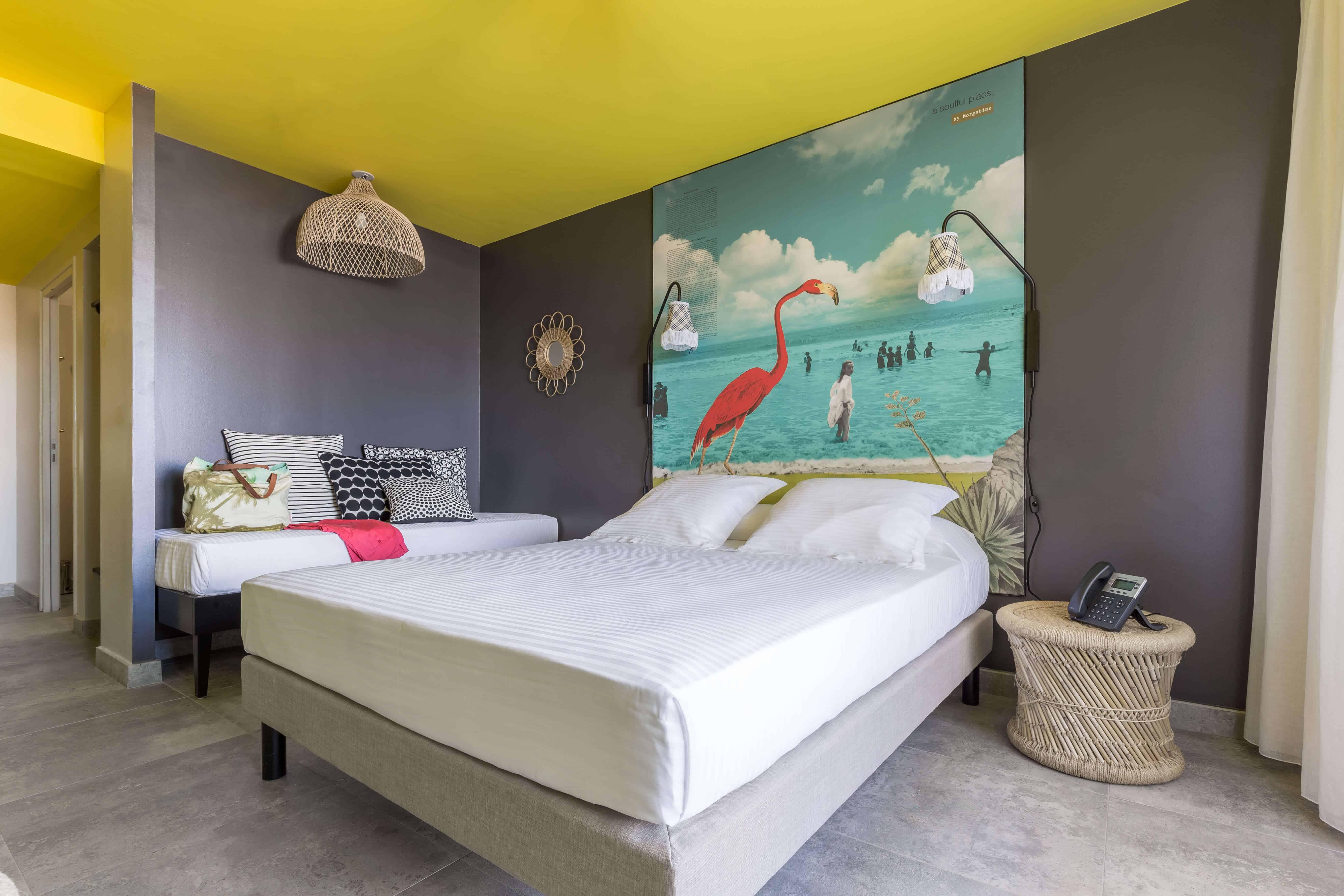 Chambre horizon <br/>  Vue piscine et horizon ou jardin privatif